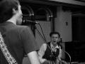 Paul Luc, John Rokosz in the band studio